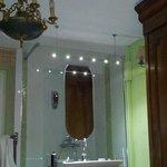 Dusche / Waschgelegenheit im Zimmer