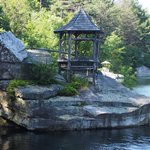 """Summerhouse"" on Mohonk Lake"