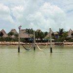 El hotel desde el mar