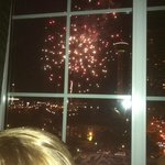 View from room 1022 on July 4th