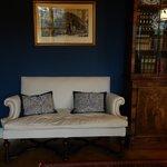 Downstairs sofa