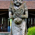 Wonderful statues and carvings on the property make for a wonderful stroll