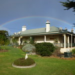Rainbow over Seaview Lodge..says it all.