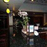 Reception lounge area decore
