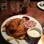 Maine Cod Fish and Chips