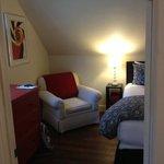 the attic bedroom.2