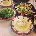 Hummus, Tabouli, Baba Ganoch