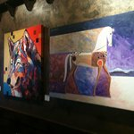 Monthly Rotating Local Artwork