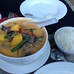 mango red curry