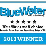 """PBGFC WINS """"Favourite Central American Gamefishing Lodge of 2013"""" from Bluewater Magazine"""