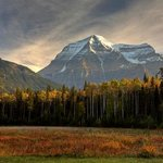 Fall at Mount Robson Provincial Park