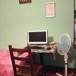 small corner in room