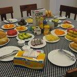 Communal breakfast at Dreams 3