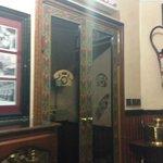 Art Deco telephone booth