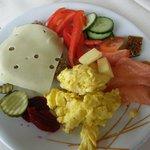 Good breakfast buffet