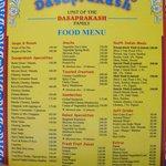 The evergreen menu