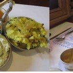 Unlimited supplies of sambhar, alu, chutney
