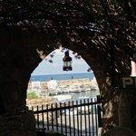Vue sur le vieux port de Byblos