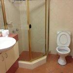 out of date or disrepair, weak water presure in shower