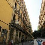 hotel e camere con affaccio sulla strada