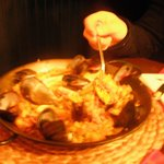 paella con cozze