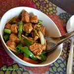 Pad Khing (Ginger) with Quorn