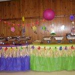 Luau Reception Catered by Hogzilla BBQ Pit