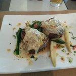 Main meal: steak medallions