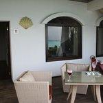 balconcino privato fronte mare