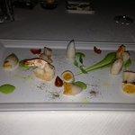 starter squid and prawns
