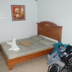 Double room (sleeps 3) with private bathroom.