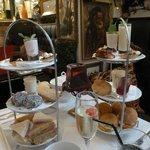 Afternoon tea for two.