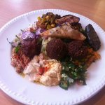 Lovely food from New Horizon cafe