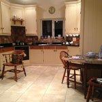 The kitchen / breakfast area