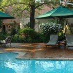 Swimming Pool Sitting Area