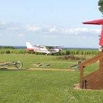 Femo Kro has their own landing strip