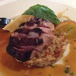 Duck Breast and Walnut Risotto