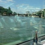 view from my club armchair facing the Seine