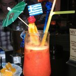 taste our unigue cocktails containing fresh juices,fruits,love and experience of giorgos!