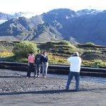 At Eyjafjallajökull