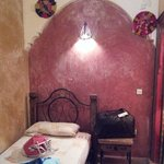 Room with local decoration objects