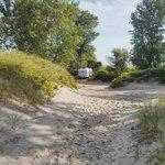 campsite location