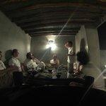 Profitant de la fraicheur des nuits marocaines sur la terrasse