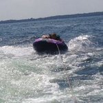 Tubing on Green Lake
