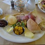 The ploughman's lunch.