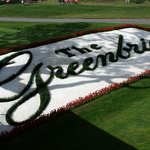 18th tee at the Greenbrier Classic