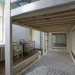 8 bed Dorm interior