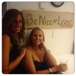 Be nice leave. Love it