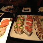 Yummy sushi!~
