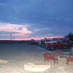 sunset at motel